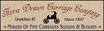 048 * Horse Drawn Carriage Company Stencil 7.5x24