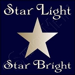 1022 * Star Light Star Bright 7.25x7.25