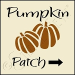 1026 * Pumpkin Patch 7.25x7.25
