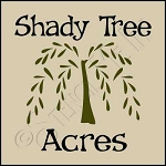 1027 * Shady Tree Acres 7.25x7.25