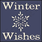1036 * Winter Wishes 7.25x7.25