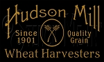 1229 * Hudson Mill Wheat Harvesters Stencil 7.25x12