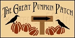 1309 * The Great Pumpkin Patch Autumn Stencil 9.25x24