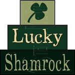 1577 * Lucky Shamrock Block Stencil Set