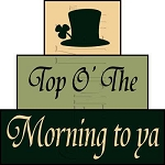 1578 * Top O' The Morning Block Stencil Set