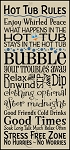 3003 * Hot Tub Rules 11.25x24