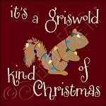 3086 * It's A Griswold Kind Of Christmas Stencil 11.25x11.25