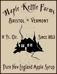 369 * Maple Kettle Farms Stencil 9.25x12