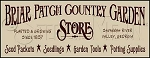 596 * Briar Patch Country Garden Store Stencil 9.25x24