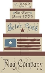 773 * Betsy Ross Flag Co Shaker Box Stencil Set