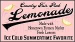 912 * Country Fair Pink Lemonade Stencil 11.25x20