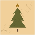 889-CA376 * Christmas Tree 4x4