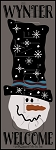 3431 * Wynter Welcome Snowman Stencil