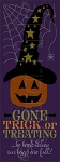 3648 * Gone Trick Or Treating Jack O' Lantern Stencil