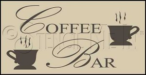 1267 * Coffee Bar 9.25x24