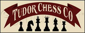 1284 * Tudor Chess Co. Stencil 9.25x24