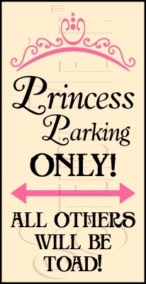 2028 * Princess Parking 9.25x18