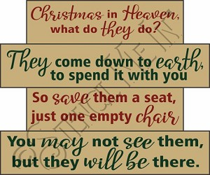 4401 * Christmas In Heaven Stencil Block Set