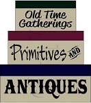 034 * Old Time Gatherings Shaker Box Stencil Set