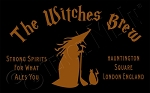 111 * The Witches Brew Halloween Stencil 11.25x18