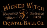 1131 * Wicked Witch Crystal Ball Co. Halloween Stencil 7.25x12