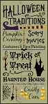 3059 * Halloween Traditions 11.25x24
