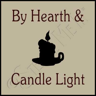 526 * By Hearth & Candle Light Stencil 9.25x10