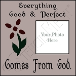 831 * Everything Good & Perfect Frame Stencil