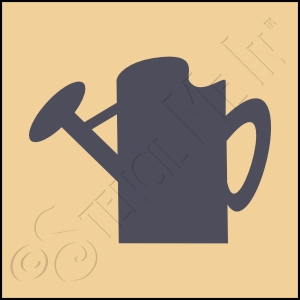 889-CA196 * Watering Can Stencil 4x4