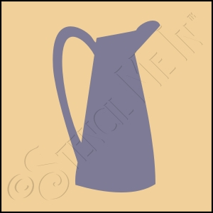 889-CA272 * Pitcher Stencil 4x4