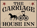 3954 * The Carriage House Inn Stencil 9.25x12
