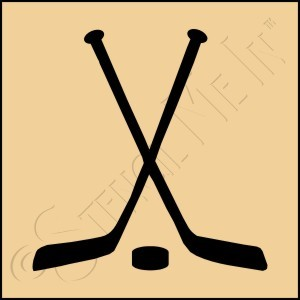 889-CA206 * Hockey Sticks 4x4