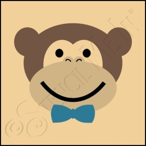 889-CA426 * Boy Monkey 4x4