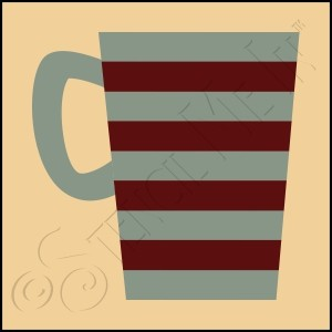 889-CA610 * Coffee Cup 4x4