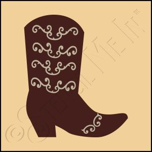889-CA625 * Cowgirl Boot 4x4